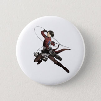 Levi Ackerman 6 Cm Round Badge
