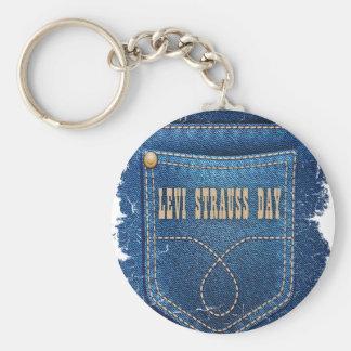 Levi Strauss Day - Appreciation Day Key Ring