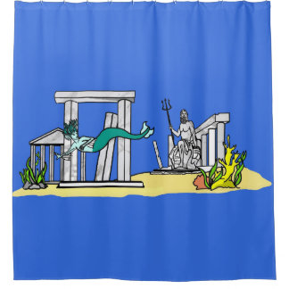 Leviathan's Trove Shower Curtain