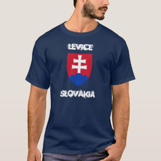 Levice, Slovakia with coat of arms T-Shirt