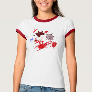 levitating monsters T-Shirt
