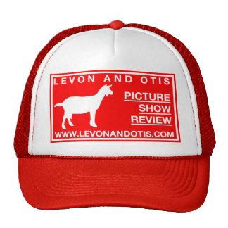Levon and Otis Goat Hat