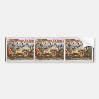LeVoyage En Suisse, 'The Railroad Disaster' Bumper Stickers