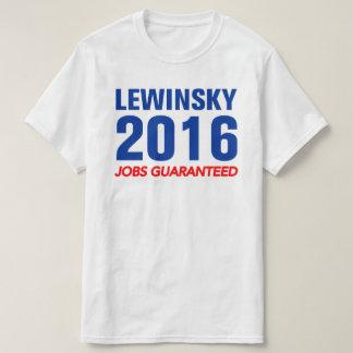 Lewinsky Jobs Guaranteed Shirt