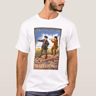 Lewis and Clark - Cape Disappointment, Oregon T-Shirt