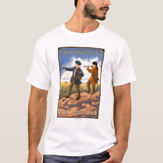 Lewis and Clark - Yellowstone National Park T-Shirt
