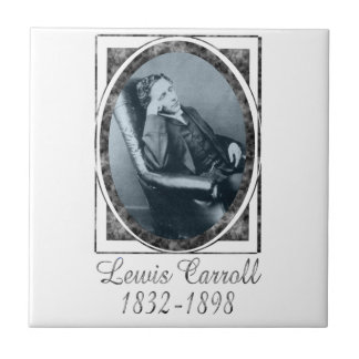 Lewis Carroll Ceramic Tile
