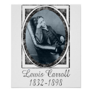 Lewis Carroll Poster