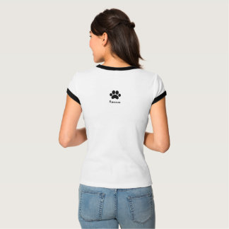 """Lewis Carroll Quote Women's """"Rescue"""" T-Shirt"""