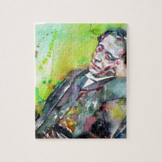 LEWIS CARROLL - watercolor portrait.2 Jigsaw Puzzle