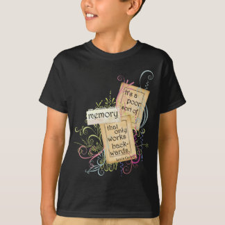 Lewis Carroll's Thoughts Memory T-Shirt
