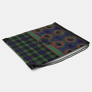 Lewis clan Plaid Scottish kilt tartan Backpack