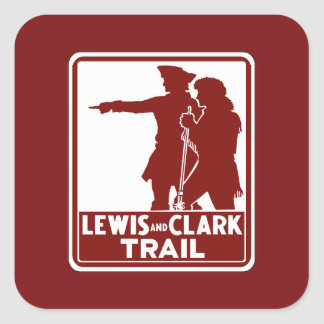 Lewis & Clark, Traffic Guide Sign, USA