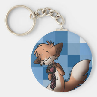 Lewis Loves Coffee Keychain