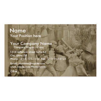 Lewis Morrison in 'The Master of the Ceremonies' Pack Of Standard Business Cards