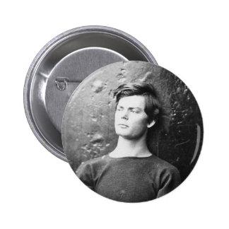 Lewis Payne ~ Lincoln Conspirator 1865 6 Cm Round Badge