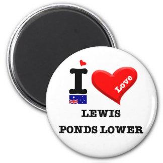 LEWIS PONDS LOWER - I Love Magnet