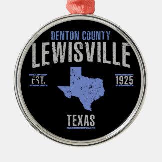 Lewisville Metal Ornament