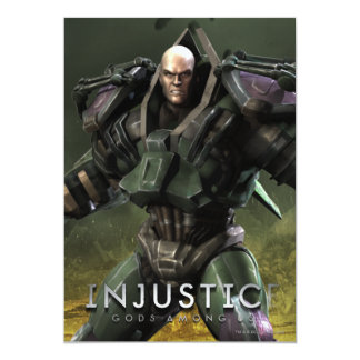 Lex Luthor 13 Cm X 18 Cm Invitation Card