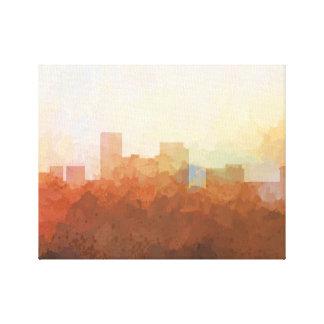 LEXINGTON, KENTUCKY SKYLINE- In the Clouds Canvas