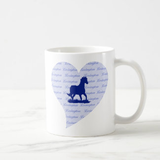 Lexington KY Horse Coffee Mug