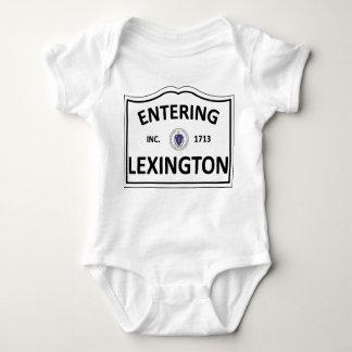 LEXINGTON MASSACHUSETTS Hometown Mass MA Townie Baby Bodysuit