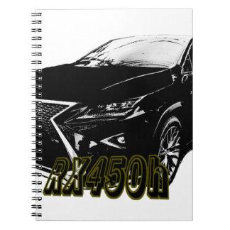 LEXUS RX 450h 350 Notebooks