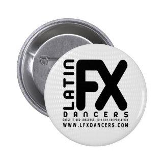 LFX Official Button White