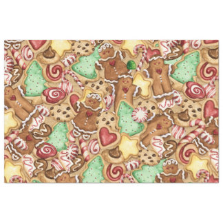 Lg. Christmas Cookie Gift Wrap Tissue Tissue Paper