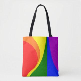 LGBT All-Over-Print Tote Bag, Medium