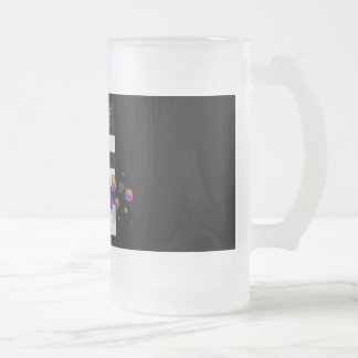LGBT Ally Feminist Frosted 16 oz Frosted Glass Mug