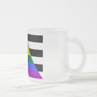 LGBT Ally Feminist Frosted Mug