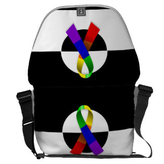 LGBT Ally Messenger Bag