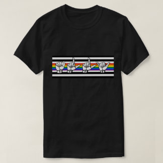 LGBT Ally Pride American Sign Language T-Shirt