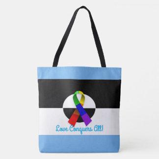 LGBT Ally Pride Tote Bag