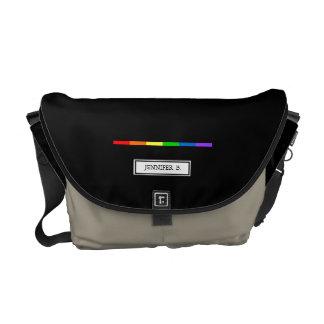 LGBT Custom Name Bag Courier Bags