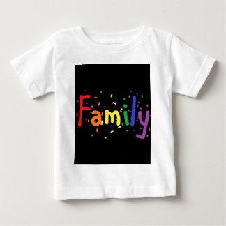 LGBT Family Logo. Baby T-Shirt