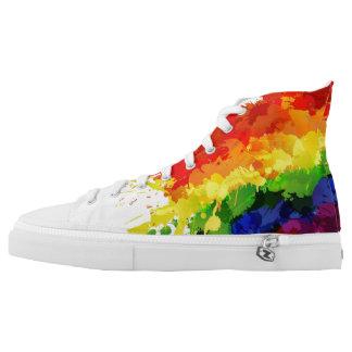 LGBT Flag High Tops