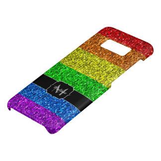 LGBT flag vibrant sparkles Monogram Case-Mate Samsung Galaxy S8 Case