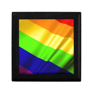 Lgbt Gay Flag Symbol Pride Rainbow Lesbian Love Gift Box