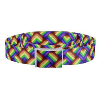 LGBT Gay Pride Party Rainbow Belt Bright