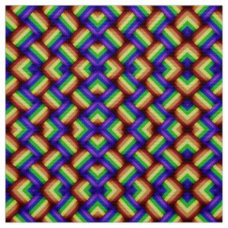 LGBT Gay Pride Party Rainbow Flag Pattern! Fabric
