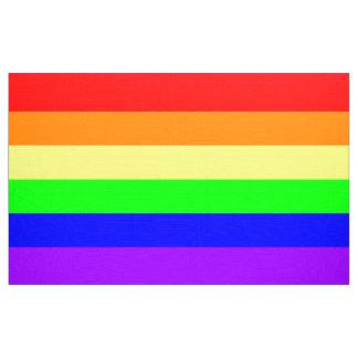 LGBT Gay Pride Rainbow Flag Pattern! Fabric