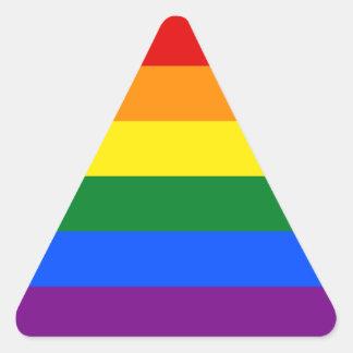 LGBT Gay Pride Rainbow Flag Stripe Stickers