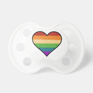 LGBT Love is Love Rainbow Heart Dummy