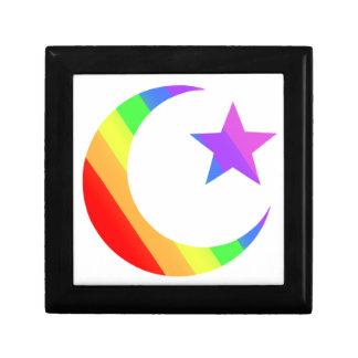 LGBT Muslim Small Square Gift Box