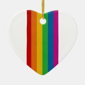 LGBT pride Ceramic Ornament