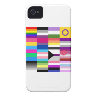LGBT Pride Flag Collage iPhone 4 Covers