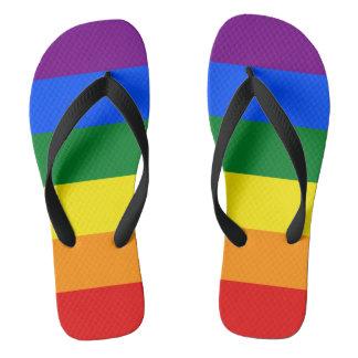 LGBT Pride Flag Rainbow Colors Thongs
