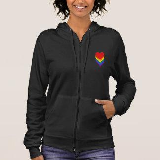LGBT pride hearts Hoodie